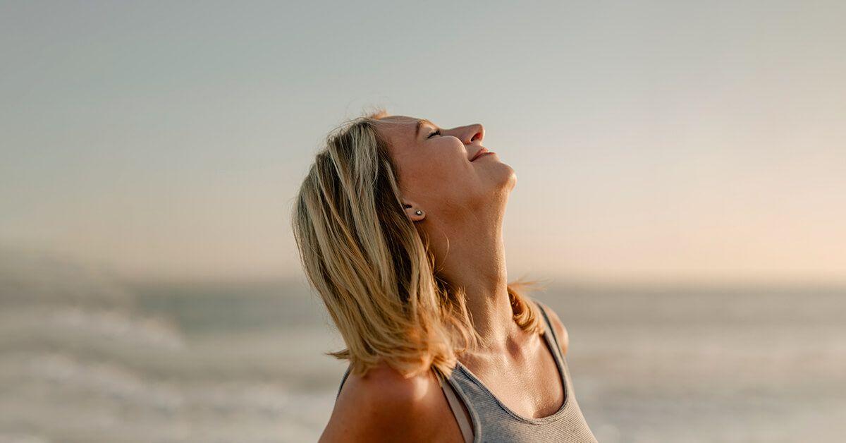 Bebe y respira oxigeno más puro y limpio